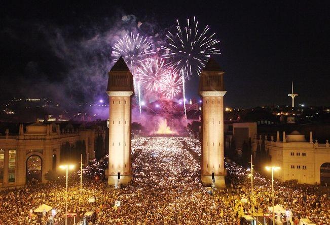 Festival de La Mercè in Barcelona