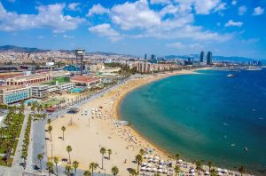 Best beaches in Barcelona: Barceloneta Beach