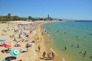 Best beaches in Barcelona: Nova Icaria Beach