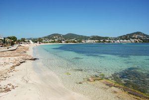 Talamanca beach in Ibiza