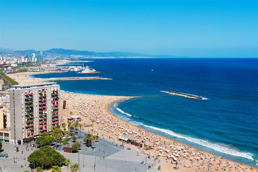 Top 10 best beaches in Barcelona Spain