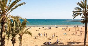 Best beaches of Barcelona: Somorrostro Beach