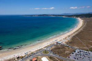 A Lanzada beach Galicia