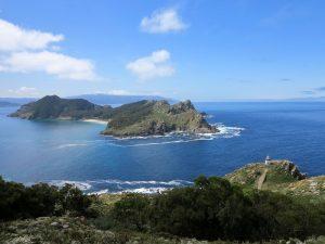 Atlantic Islands of Galicia National Park in spain