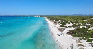 Es Trenc Beach in Mallorca