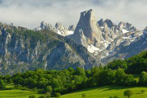 Picos de Europa National Park in Spain