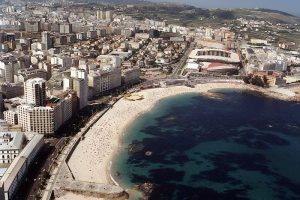 Riazor Beach Galicia