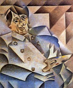 portrait Pablo Picasso Masterpiece (1912)