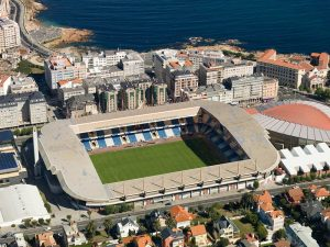 Abanca-Riazor Stadium in Galicia
