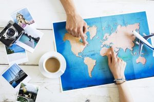 Choose your destination, Travel Itinerary