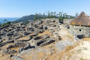 Monte Santa Trega in Galicia