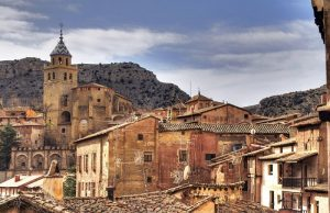 Albarracin Town in aragon region