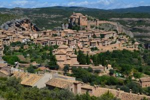 Alquezar village in Aragon region