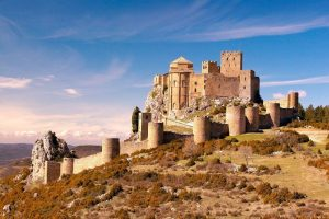 Castle of Loarre in Aragon region
