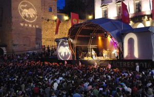 WOMAD festival in Caceres