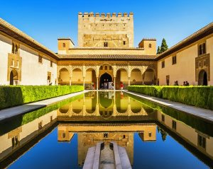 The Alhambra in Andalucia region