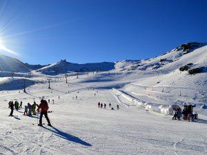 sierra nevada  in Andalucia region