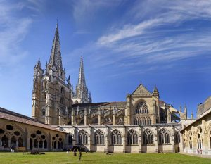 Saint Mary's Cathedral and Cloister in Bayonne