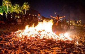The Noche de San Juan in Blanes